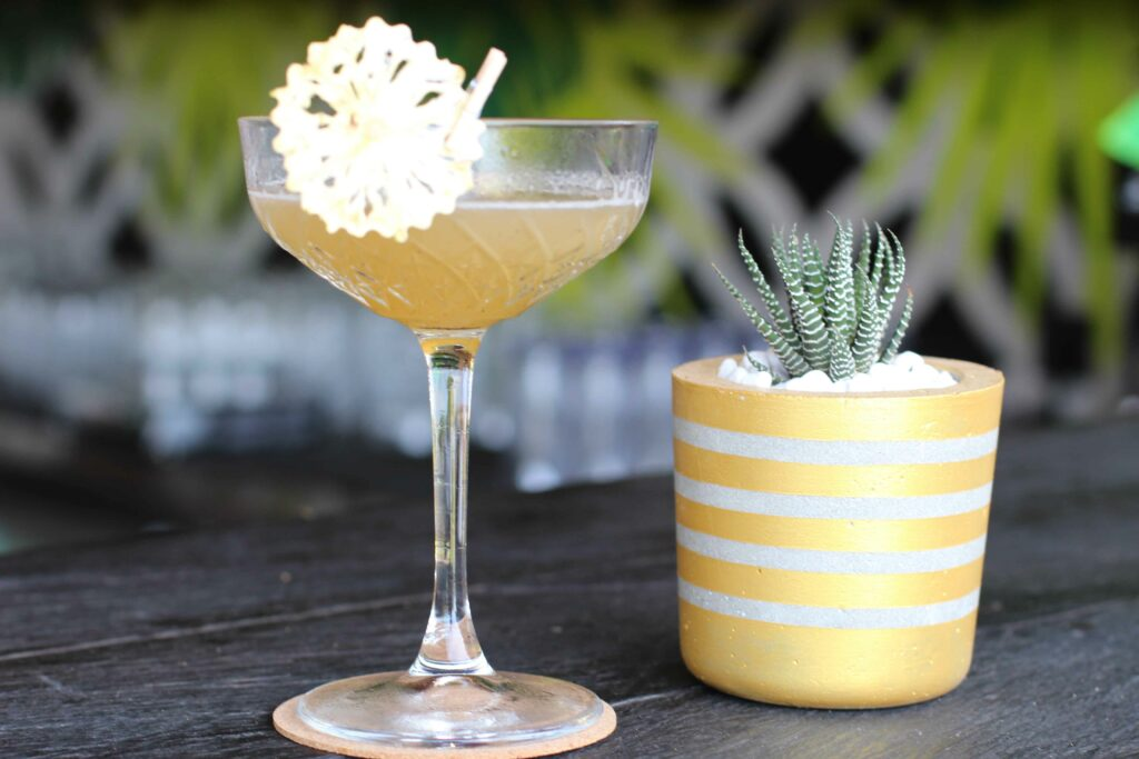 Roasted Pineapple Daiquiri Cocktail